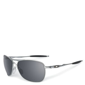 Oakley Men's Crosshair Matte Iridium Sunglasses - Lead
