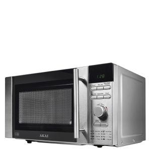 Akai 800W Digital Microwave - Silver
