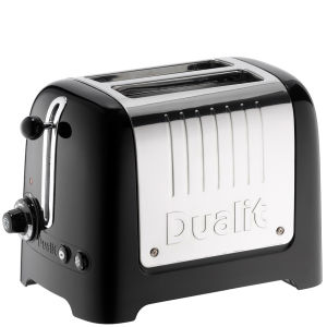 Dualit 26205 2 Slot Lite Toaster - Black Gloss