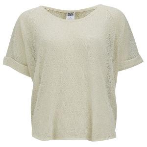 Vero Moda Women's Daffodil T-Shirt - Cream