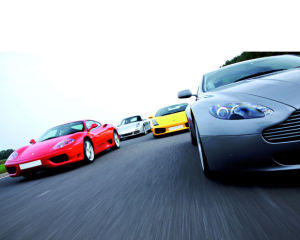 Five Car Driving Blast with Passenger Ride Special Offer