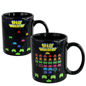 50Fifty Space Invaders Colour Changing Mug - Multi