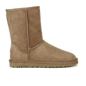 UGG Australia Women's Classic Short Sheepskin Boots - Chestnut