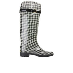 Lauren by Ralph Lauren Women's Rossalyn Wellington Boots - Black/Cream
