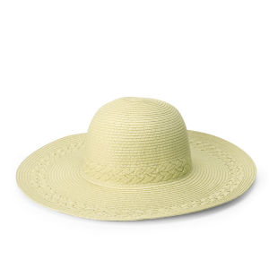 Boardman Bros Women's Braided Floppy Hat - Natural