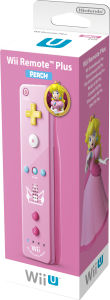 Wii Remote Plus Peach