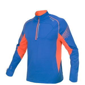 Saucony Men's Kinvara Drylete Fitted Sport Top - Enduro Blue/Vizipro