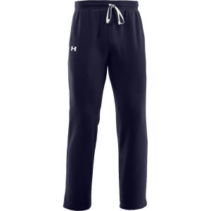 Under Armour Men's Charged Cotton Storm Transit Pants - Midnight Navy/White