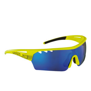 Salice 006 Sports Sunglasses - Yellow/Blue