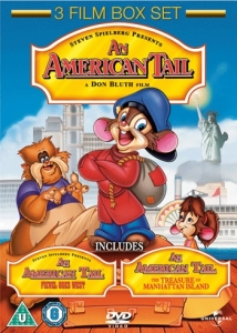 An American Tail 1, 2 and 3 (Lenticular Sleeve)