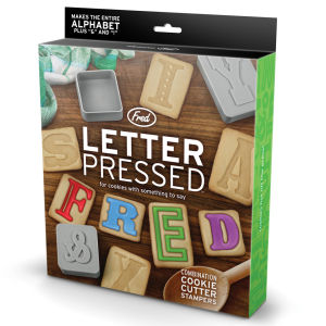 Letter Pressed Biscuit Shapes