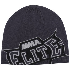 MMA Elite Men's Slide Beanie - Grey - One Size