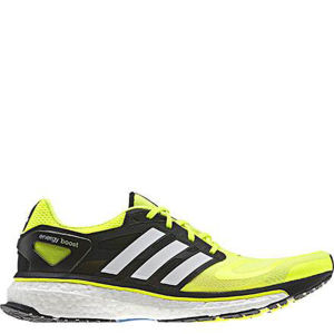 Adidas Men's Energy Boost Running Shoe - Electricity/Running White/Black