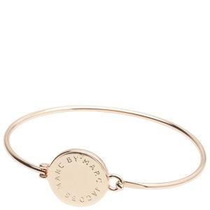 Marc by Marc Jacobs Big Logo Hinge Bracelet - Rose Gold