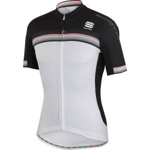 Sportful Bodyfit Pro Team Jersey - White/Black