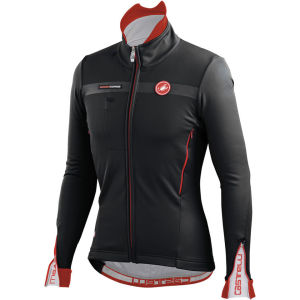 Castelli Espresso 3 Jacket - Black/Red