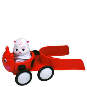 Zhu Zhu Pet Hamster Babyland Push-Along - Bug