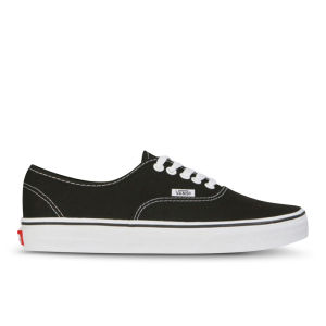Zapatillas Vans Unisex Authentic Lienzo - Negro/Blanco