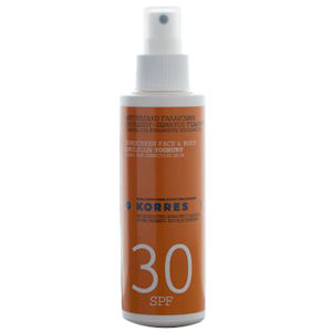Korres Yoghurt Face & Body Sunscreen Emulsion SPF30 150ml