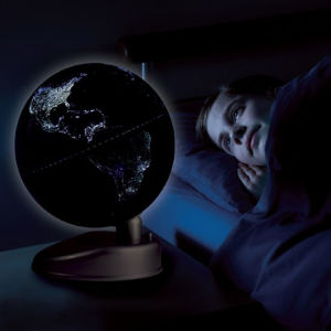 Eureka Toys 2 in 1 Globe - Earth by Day / Earth by Night