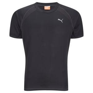 Puma Men's Drycell Running T-Shirt - Black/Grey