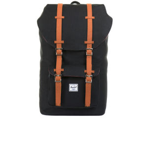 Herschel Little America Suede Backpack - Black