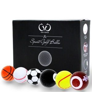 Golf Genius Novelty Golf Balls