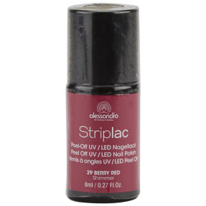 Striplac Berry Red UV Nail Polish (8ml)