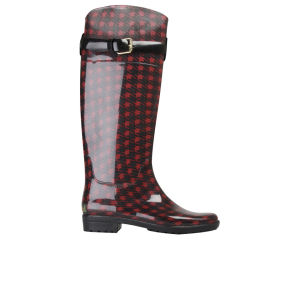 Lauren by Ralph Lauren Women's Rossalyn Wellington Boots - Red/Black