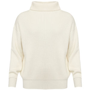 Joseph Women's Cotwool Oversized Sweater - Off White