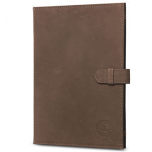 dbramante1928 Leather Folio Case for iPad 2, 3, 4, and iPad Air - Hunter Brown