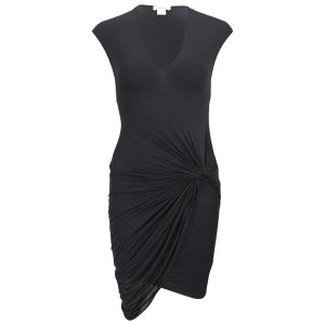 Helmut Lang Women's V Twist Dress - Black