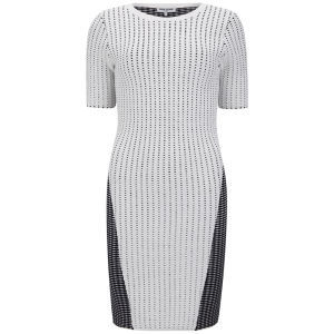 Opening Ceremony Women's Façade Stitch Dress - Bone Multi