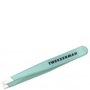 Tweezerman Schräge Mini Slant Pinzette Green Tea