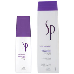 Wella SP Volumize Duo - Shampoo and Weightless Finish