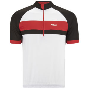 PBK Heritage St-Germain Short Sleeve Jersey - White/Red/White