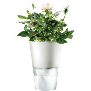 Eva Solo 11cm Self Watering Herb Pot - Chalk White