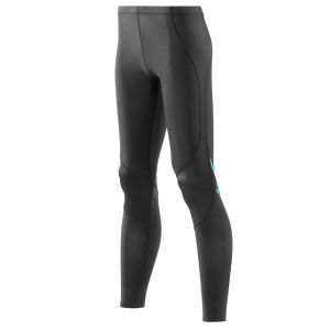 Skins Women's Coldblack Long Tights - Black/Blue