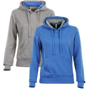 Brave Soul Women's 2 Pack Hoodies - Grey/Blue