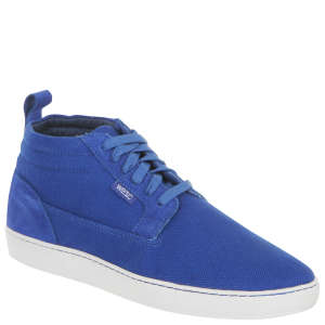 WESC Men's Hagelin Mid Top Trainer - Royal Blue