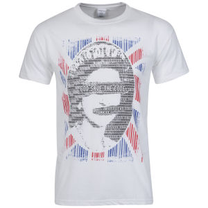 Joystick Junkies Men's God Save The Code T-Shirt - White