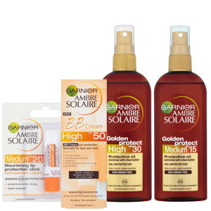 Garnier Ambre Solaire Sun Protection Beauty Pack 2 (4 Products)