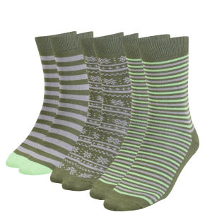 Green Treat Men's 3 Pack Sock Gift Set - Green
