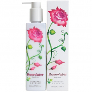 CRABTREE & EVELYN ROSEWATER BODY LOTION (245ML)