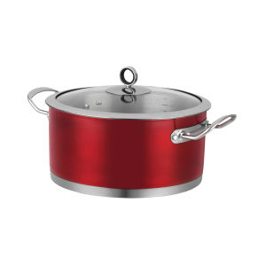 Morphy Richards 46371 Accents 24cm Casserole Dish - Red