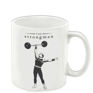 Victoriana The Strongman Porcelain Mug