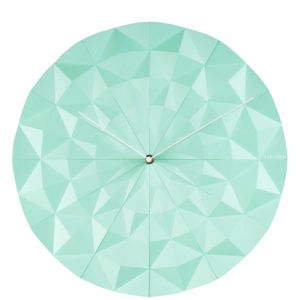 Karlsson Wall Clock Facet - Mint Green