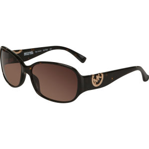 Michael Kors Sag Harbor Oversized Oval Sunglasses - Tortoise