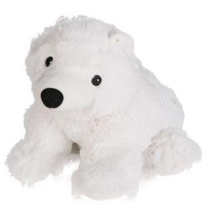 Cozy Heatable Plush Polar Bear Iwoot