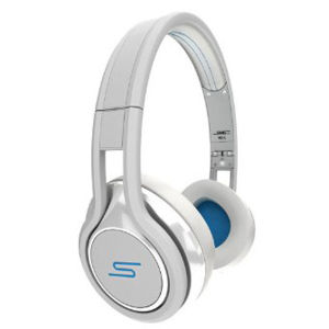 SMS Audio by 50 Cent Street Wired Headphones Includes Passive Noise Cancellation - White